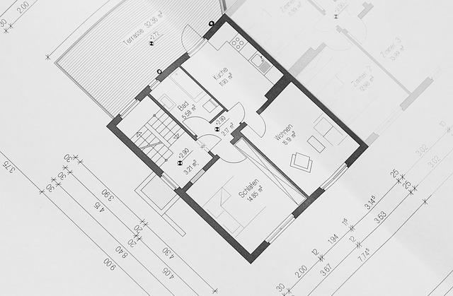 Grundriss Bauweise Ingenieurbüro Markon in Engelsberg