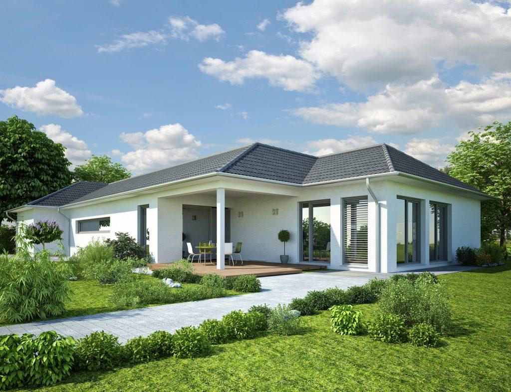 Bungalow Baustil beim Ingenieurbüro Markon in Engelsberg und Niederbayern