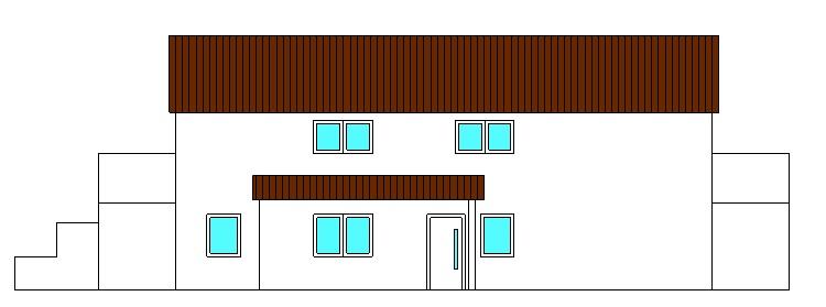 Projekte 3-Mehrfamilienhaus (LPH 1 - 4), Eggenfelden Ansicht Nord vom Ingenieurbüro Markon in Engelsberg