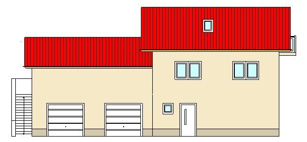 Projekte Hausansicht Südseite beim Ingenieurbüro Markon in Engelsberg