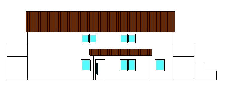 Projekte 3-Mehrfamilienhaus (LPH 1 - 4), Eggenfelden Ansicht Süd vom Ingenieurbüro Markon in Engelsberg