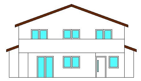 Projekte 3-Mehrfamilienhaus (LPH 1 - 4), Eggenfelden Ansicht West Ingenieurbüro Markon in Engelsberg